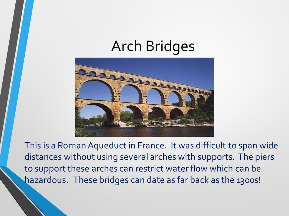 A brief overview of bridges ppt video online download for How far can granite span without support
