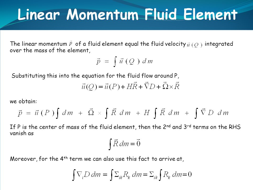 linear momentum Momentum the momentum of a particle is defined as the product of its mass times its velocity it is a vector quantity the momentum of a system is the vector sum of the momenta of the objects which make up the system.