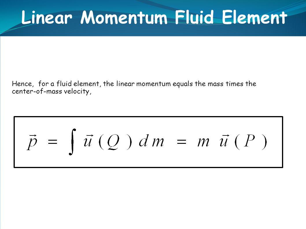 Linear Momentum Fluid Element