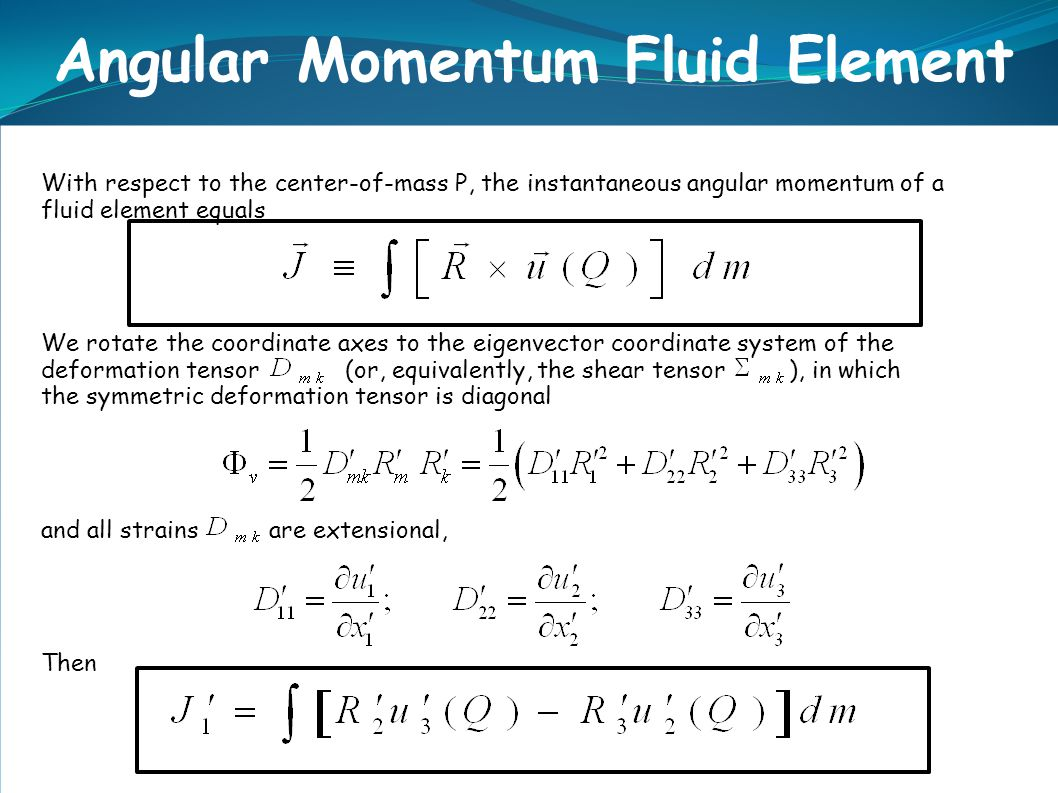 angular momentum and mass center Introduction to angular momentum  note: r in these equations represents the radial distance from the axis of rotation to the center of mass of the point mass.
