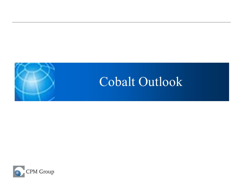 Cobalt Outlook