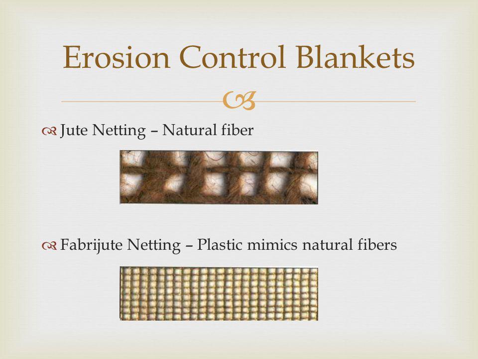 Erosion Control Blankets