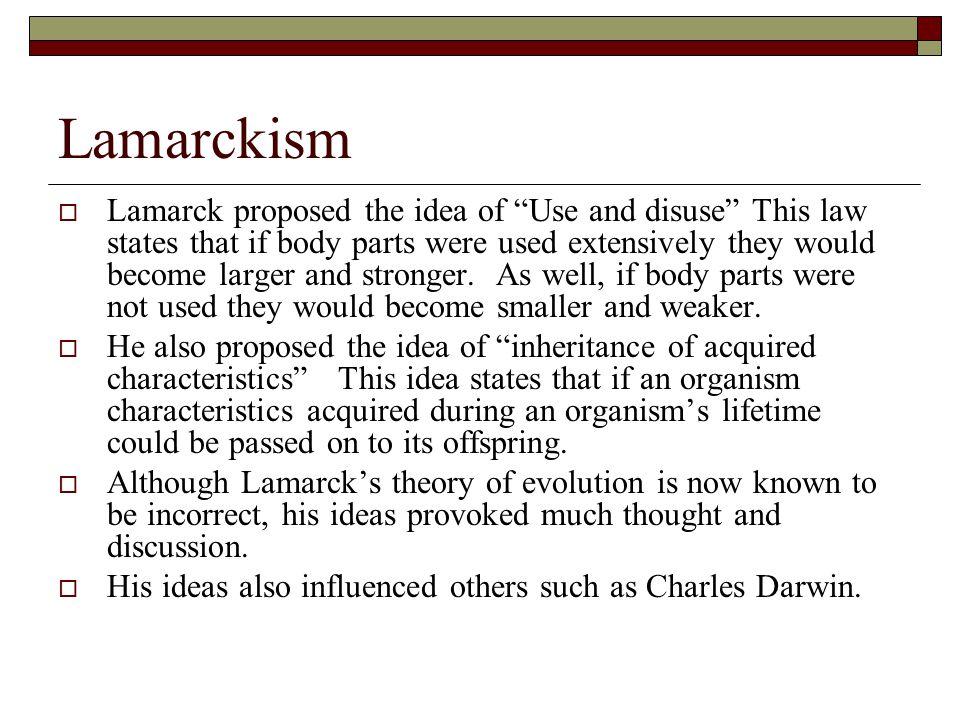 Lamarckism