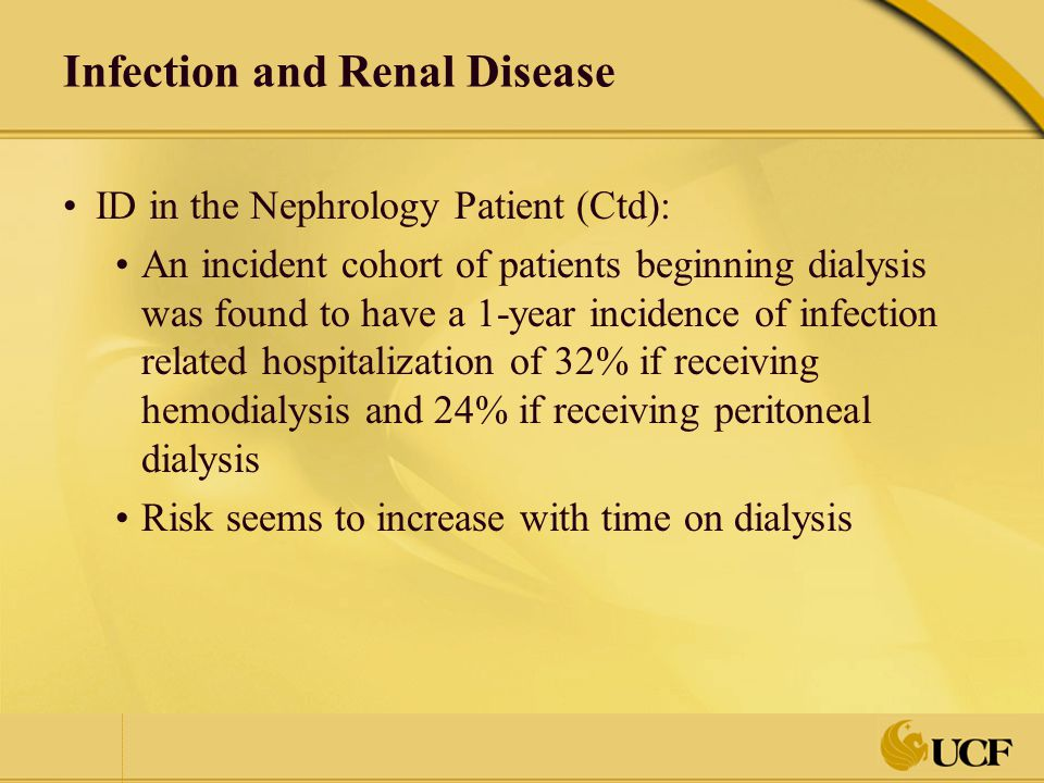 Infection and Renal Disease