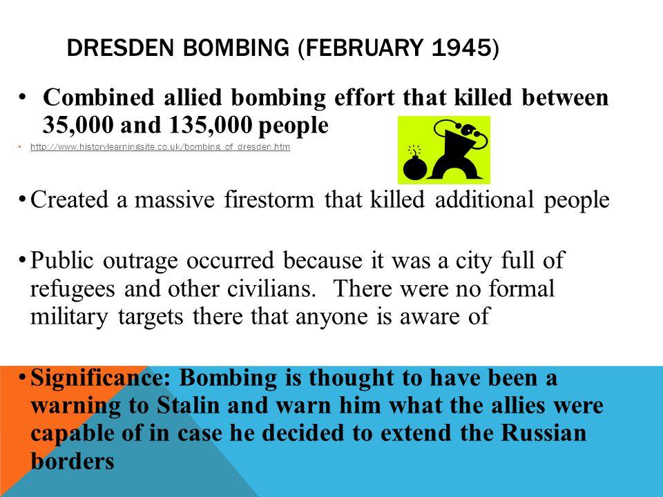 Dresden Bombing (February 1945)
