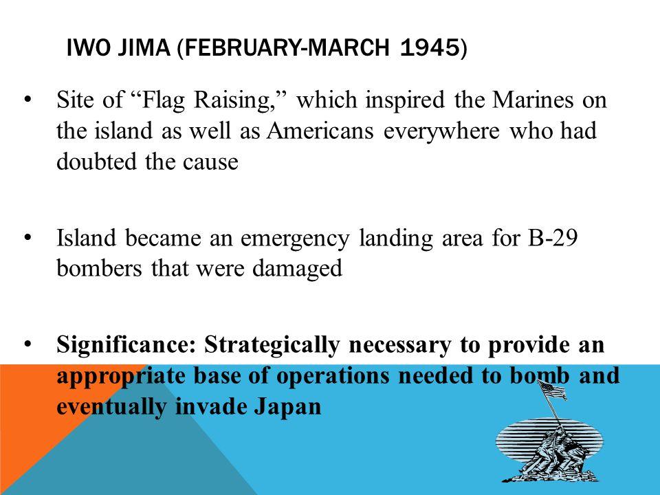 Iwo jima (February-march 1945)