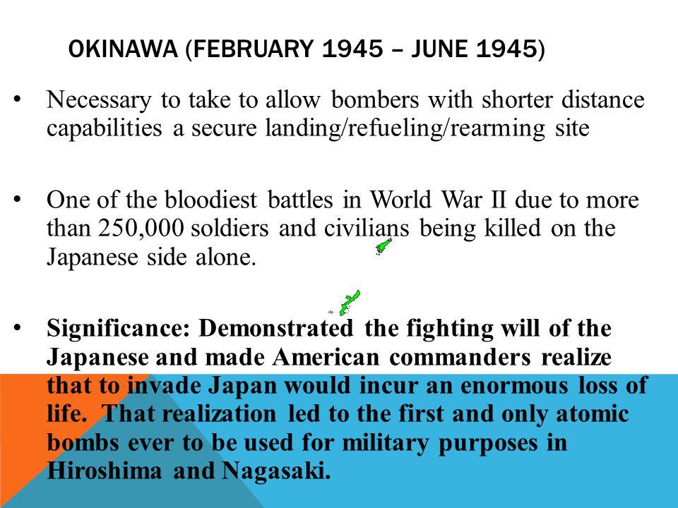Okinawa (February 1945 – June 1945)