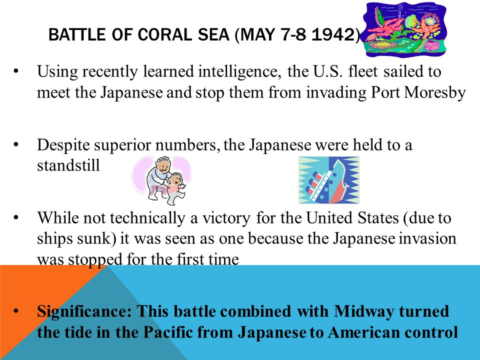 Battle of Coral Sea (May 7-8 1942)