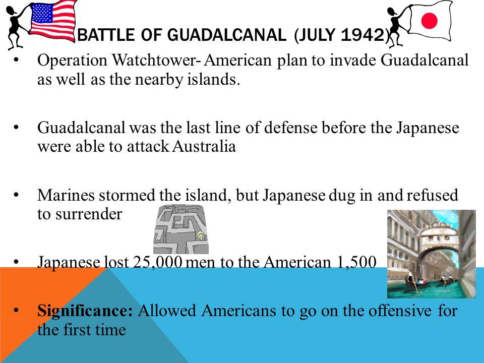 Battle of Guadalcanal (July 1942)