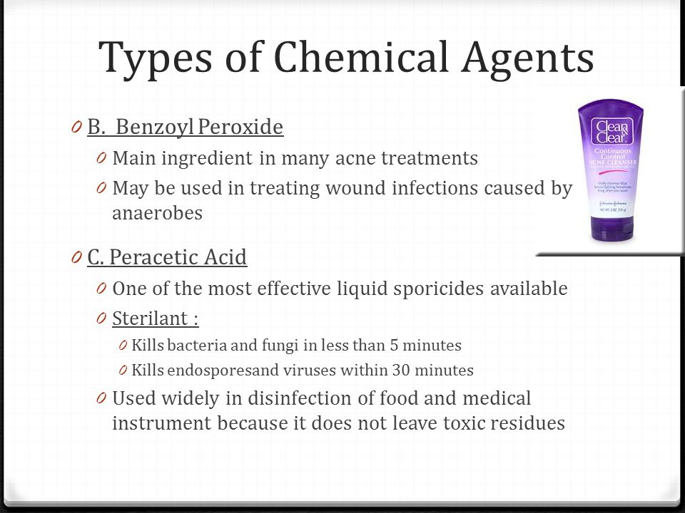 Types of Chemical Agents