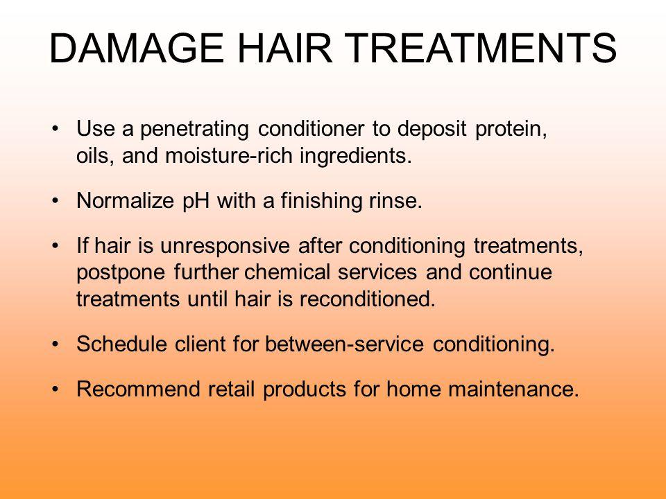 DAMAGE HAIR TREATMENTS