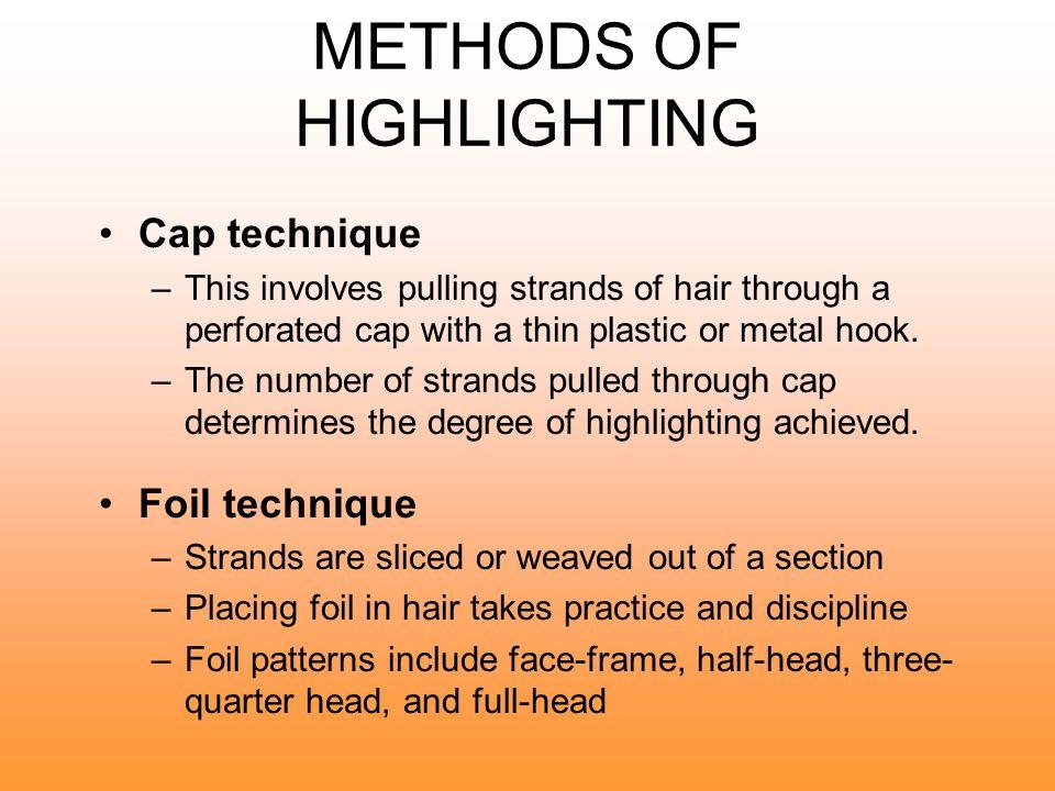 METHODS OF HIGHLIGHTING