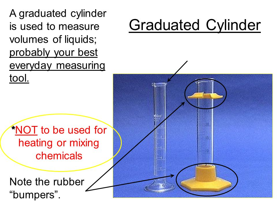 *NOT to be used for heating or mixing chemicals