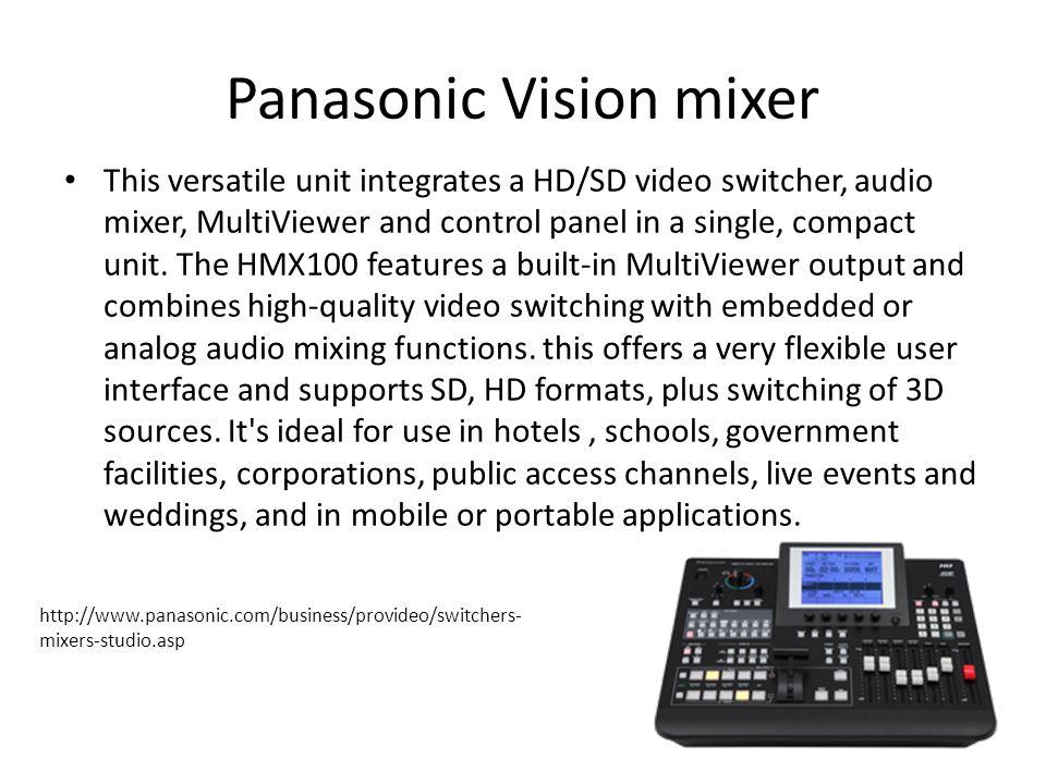 Panasonic Vision mixer