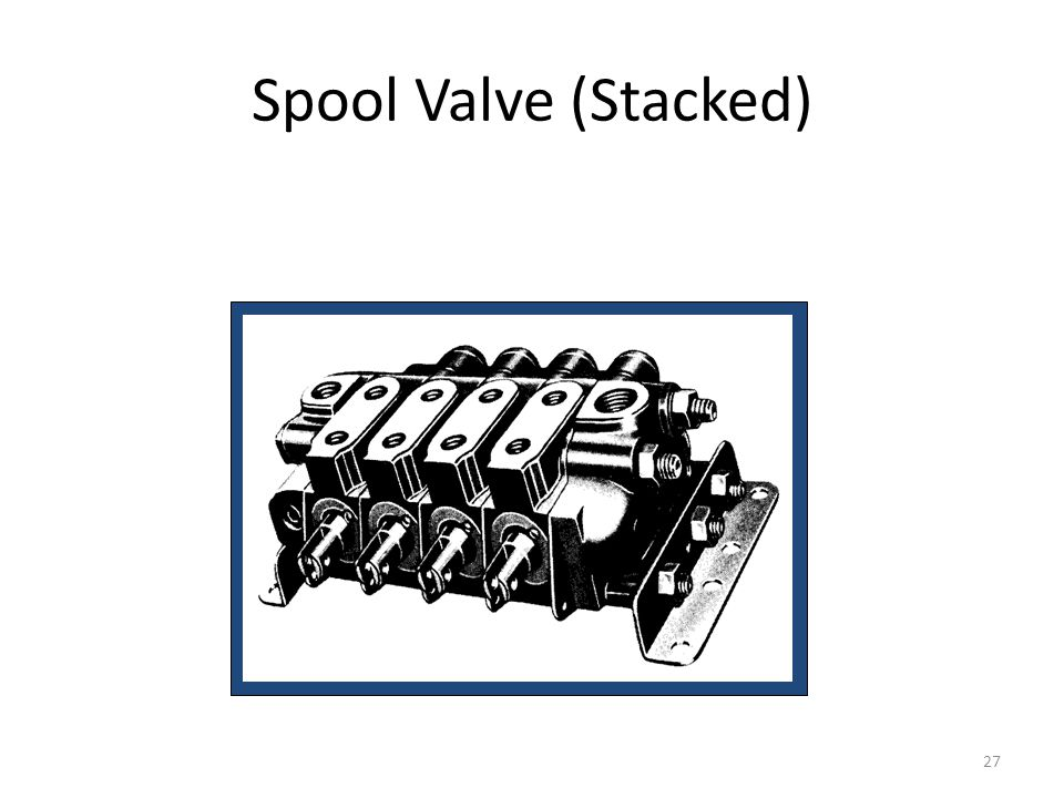 Spool Valve (Stacked)