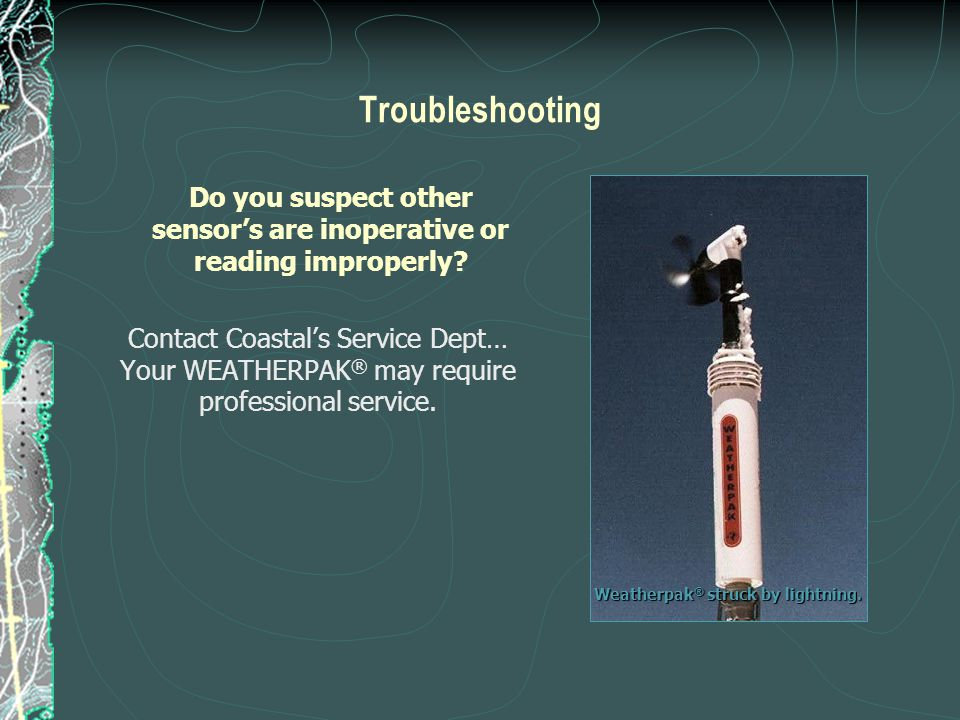 Do you suspect other sensor's are inoperative or reading improperly