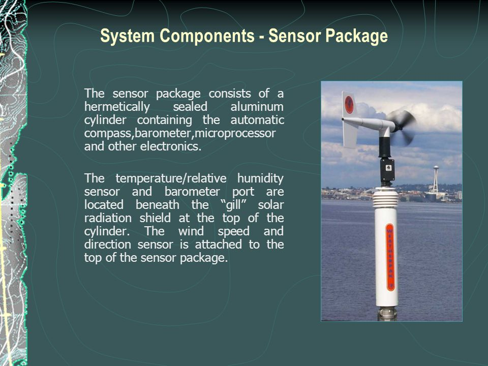System Components - Sensor Package
