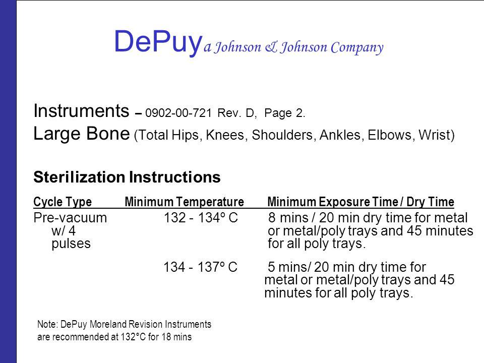 DePuya Johnson & Johnson Company