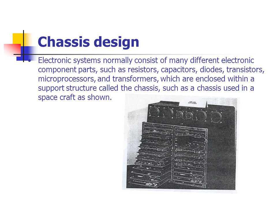 Chassis design