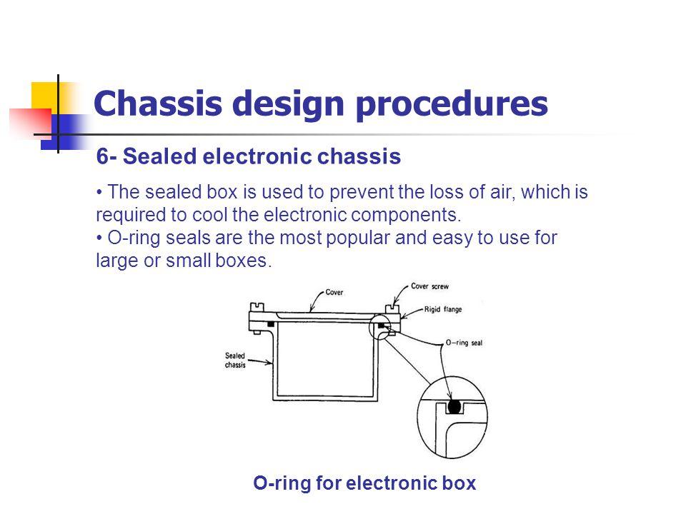 Chassis design procedures