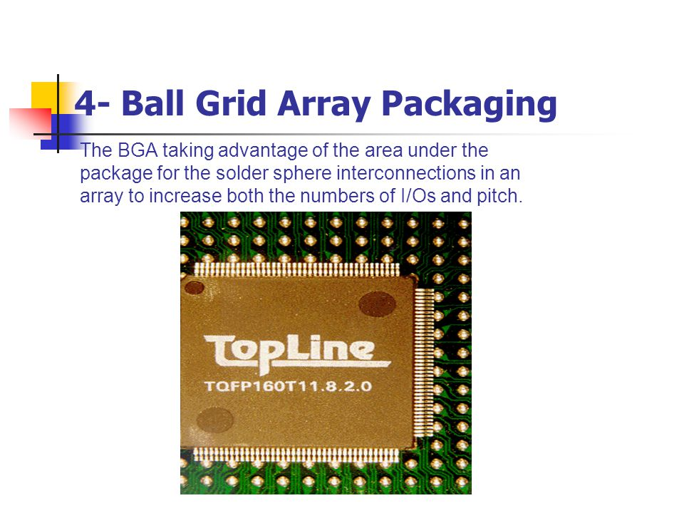 4- Ball Grid Array Packaging