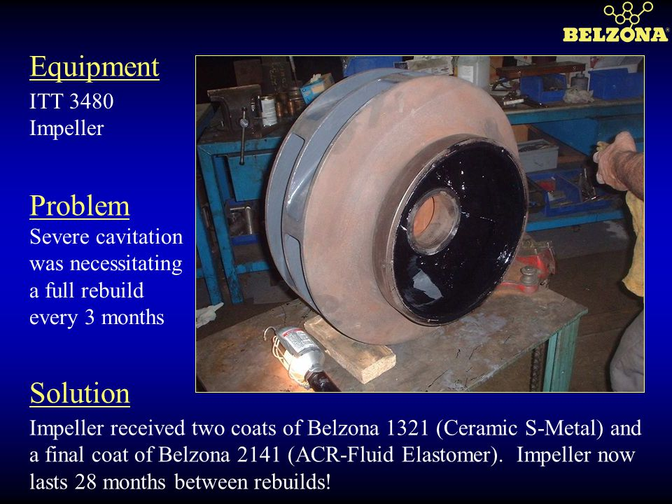 Equipment Problem Solution ITT 3480 Impeller