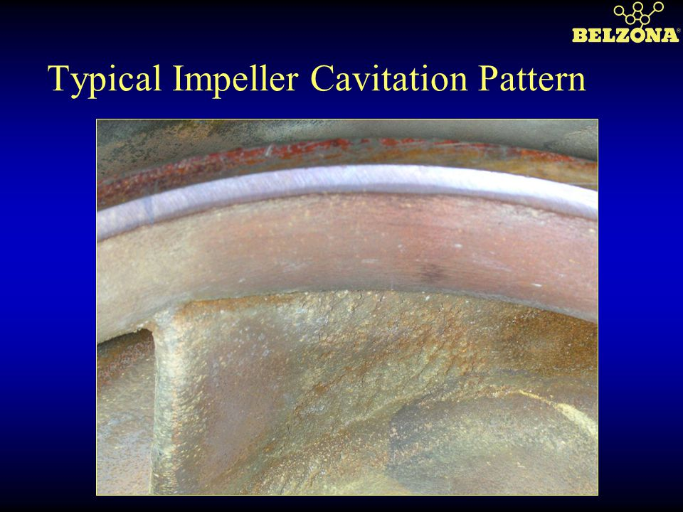 Typical Impeller Cavitation Pattern