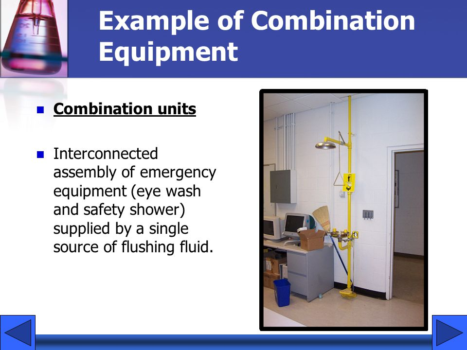 Example of Combination Equipment