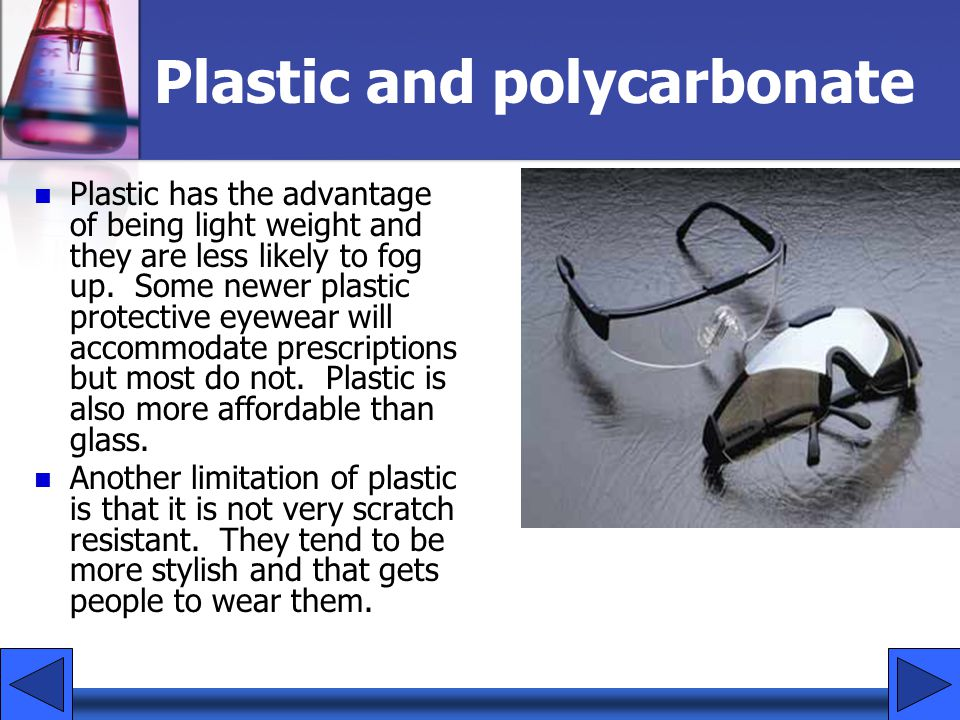 Plastic and polycarbonate