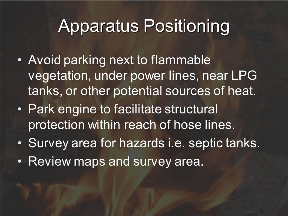 Apparatus Positioning