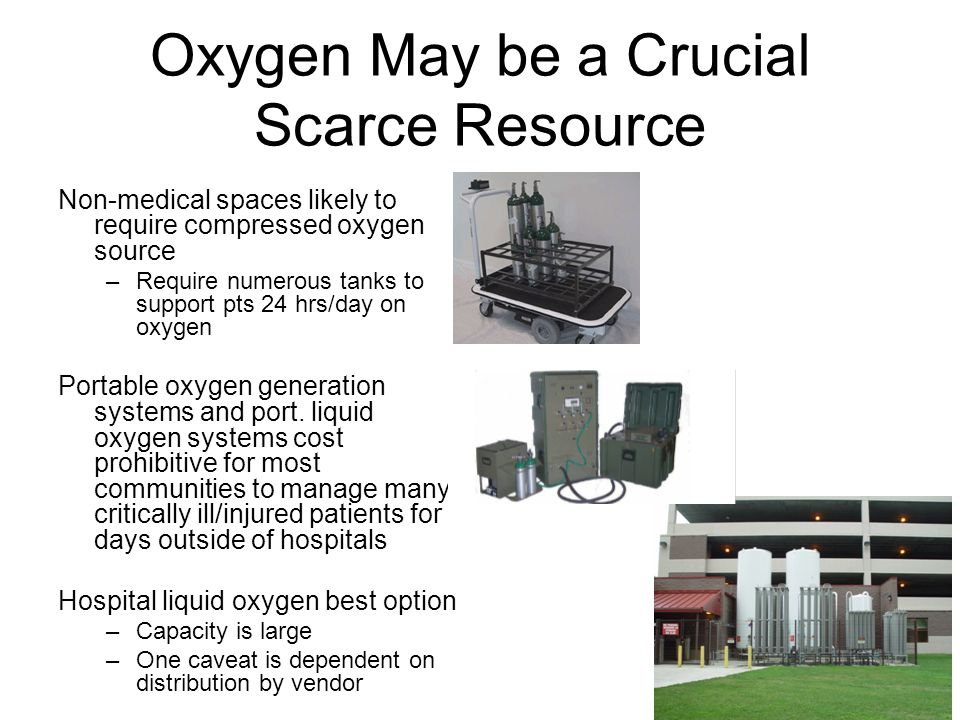 Oxygen May be a Crucial Scarce Resource