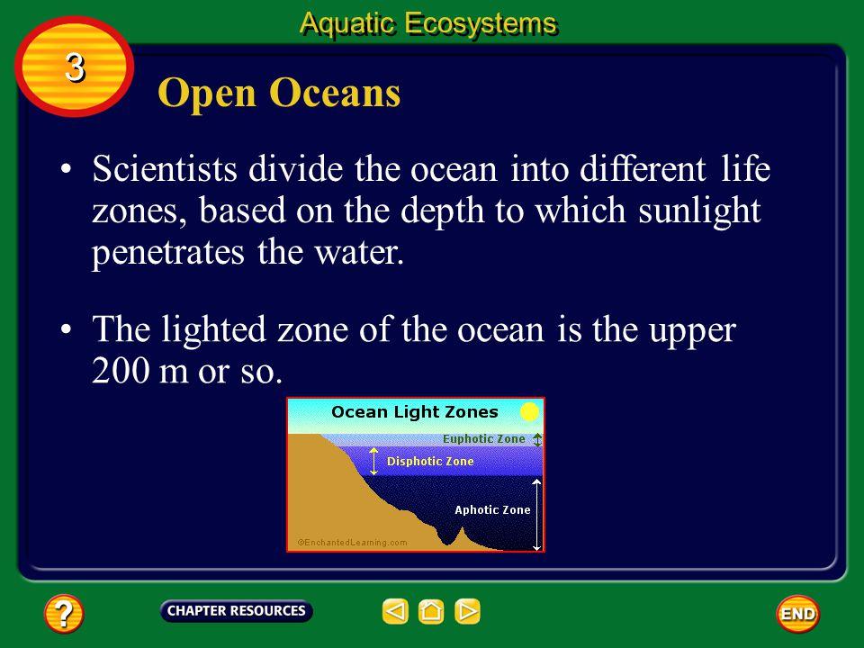 Aquatic Ecosystems 3. Open Oceans.