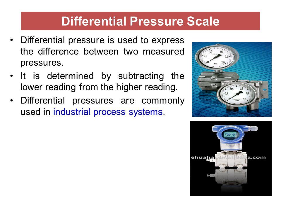 Differential Pressure Scale