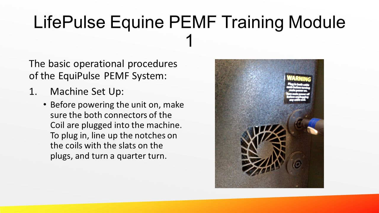 LifePulse Equine PEMF Training Module 1