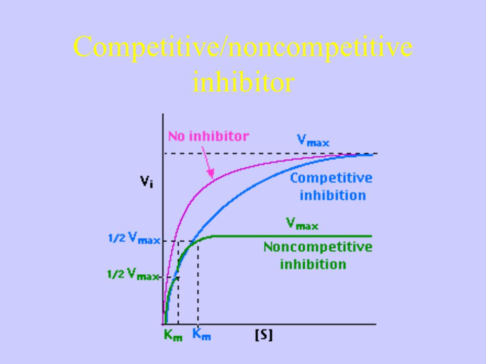 Competitive/noncompetitive inhibitor