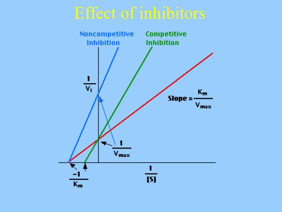 Effect of inhibitors