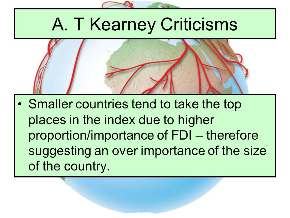 A. T Kearney Criticisms