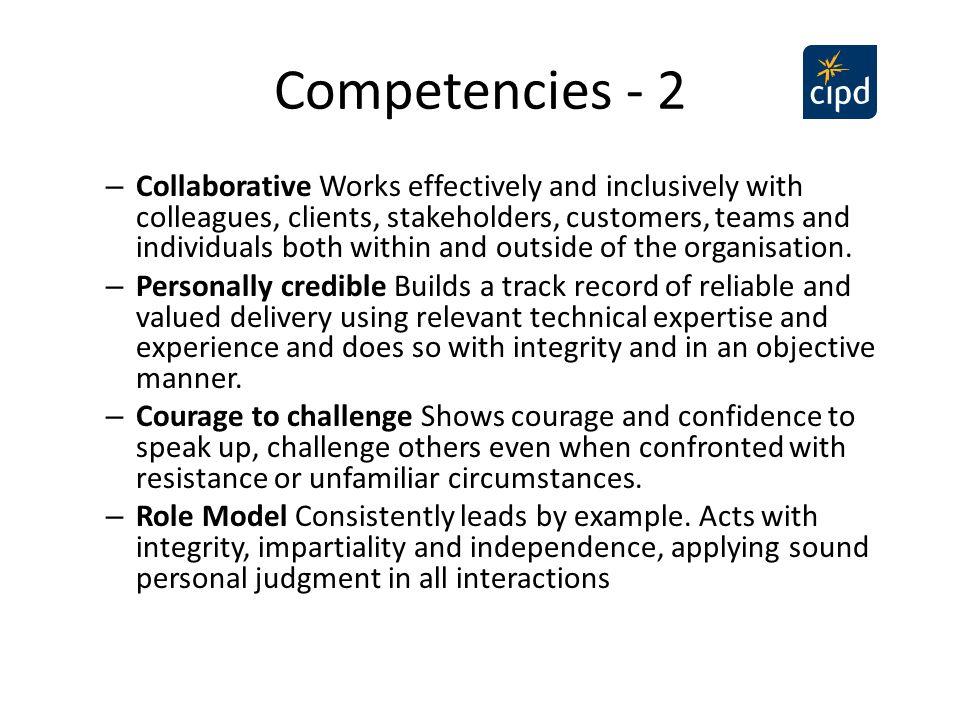 Competencies - 2