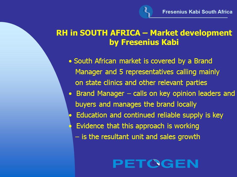 RH in SOUTH AFRICA – Market development by Fresenius Kabi