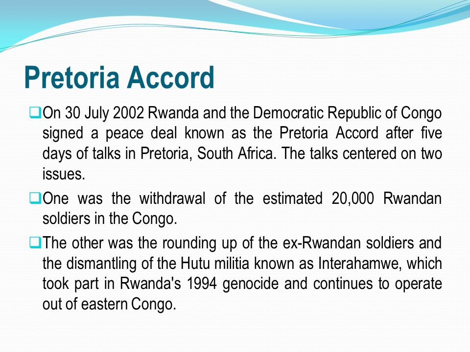 Pretoria Accord