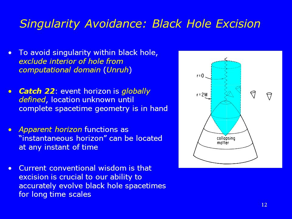 Singularity Avoidance: Black Hole Excision