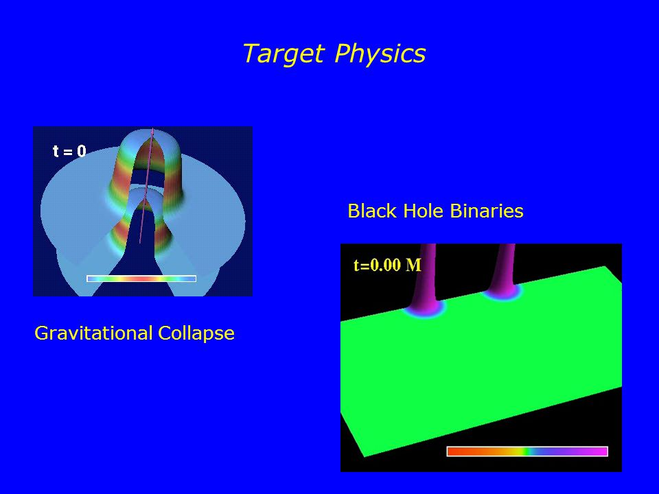 Target Physics Black Hole Binaries Gravitational Collapse