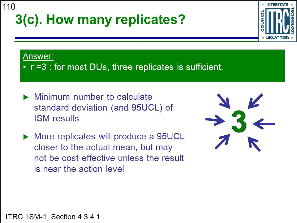 3(c). How many replicates