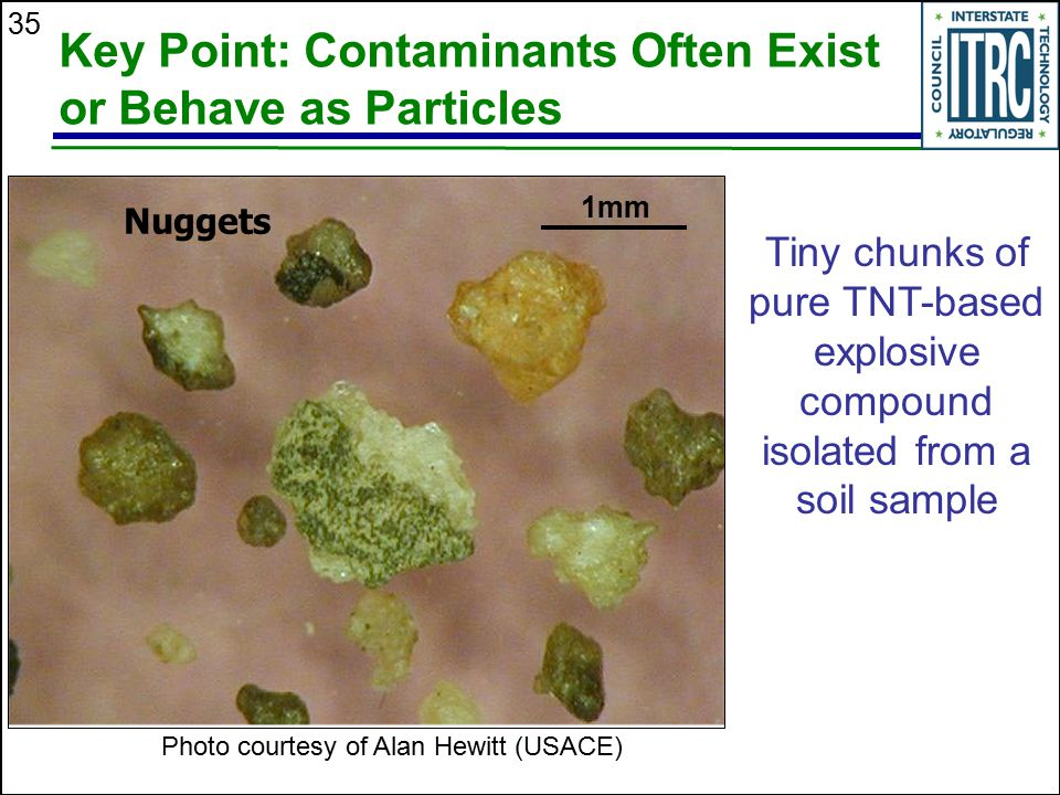 Key Point: Contaminants Often Exist or Behave as Particles