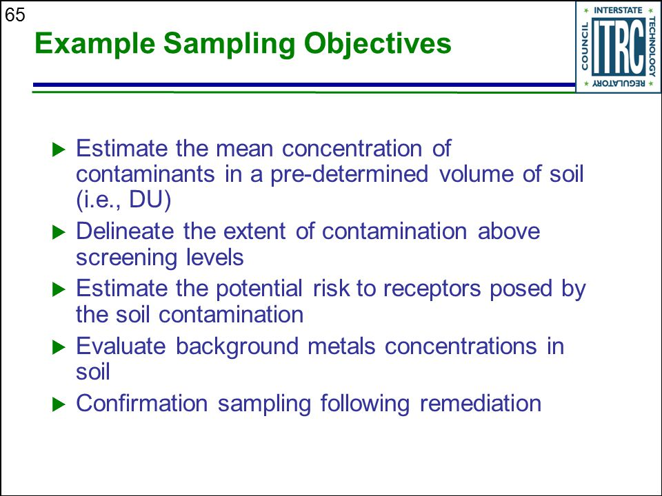 Example Sampling Objectives
