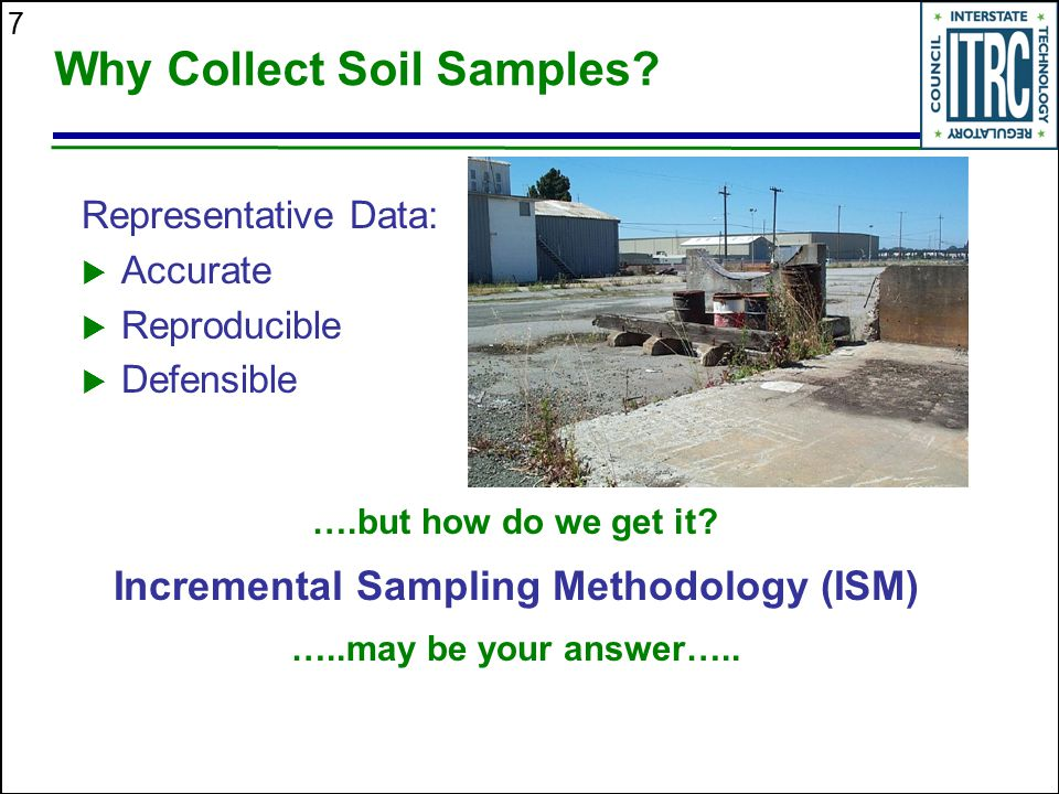 Why Collect Soil Samples