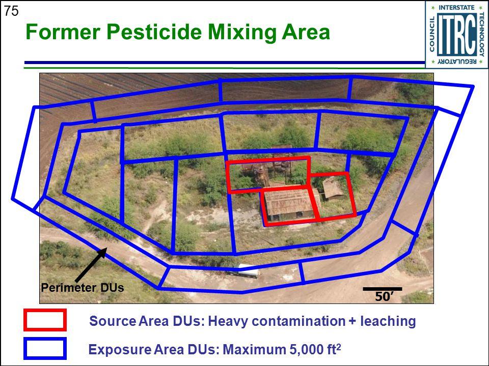 Former Pesticide Mixing Area