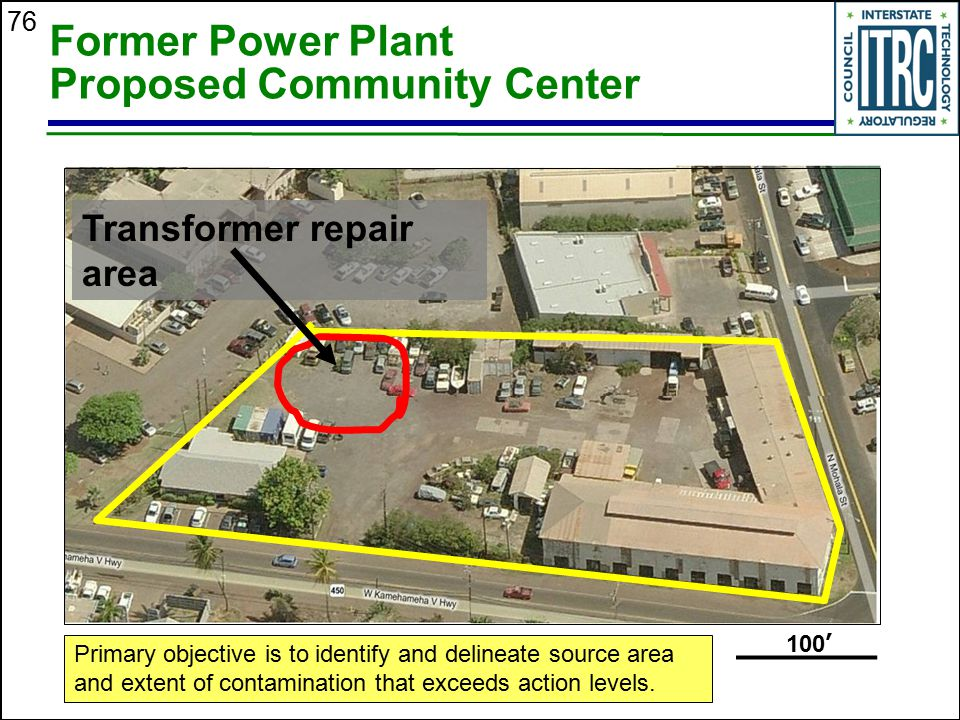 Former Power Plant Proposed Community Center