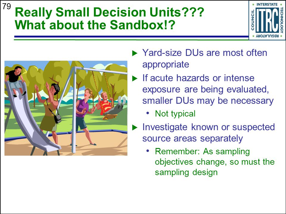 Really Small Decision Units What about the Sandbox!