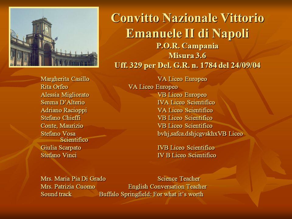 Convitto Nazionale Vittorio Emanuele II di Napoli P. O. R